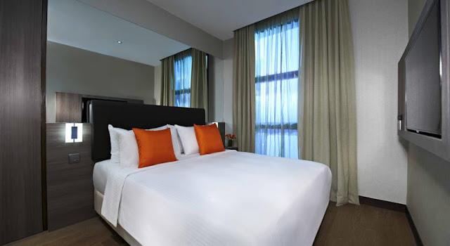 AQUEEN HOTEL JALAN BESAR - room