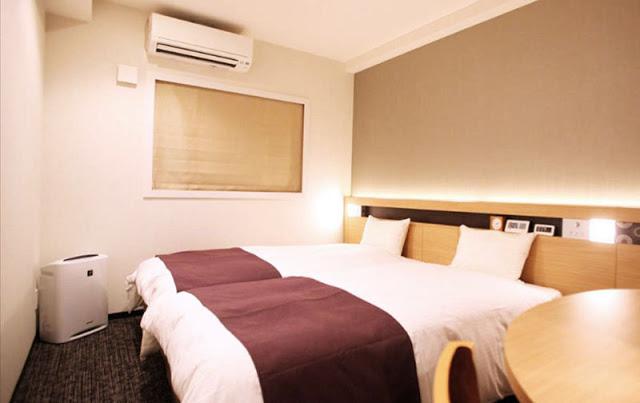 京都二條城高級城市酒店 Urban Hotel Kyoto Nijo Premium - 雙人床房