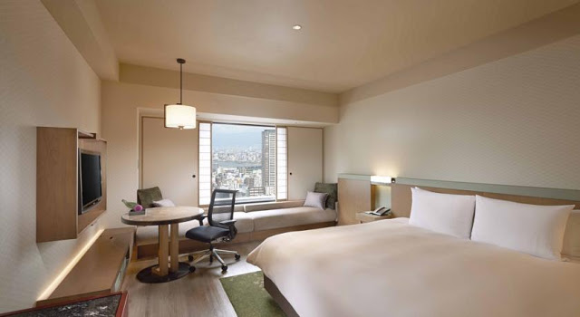 大阪希爾頓酒店 Hilton Osaka Hotel -雙人床房
