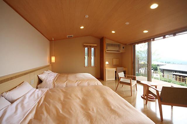 朝霧之宿 由布院花由 Yufuin Hanayoshi 和洋式客房
