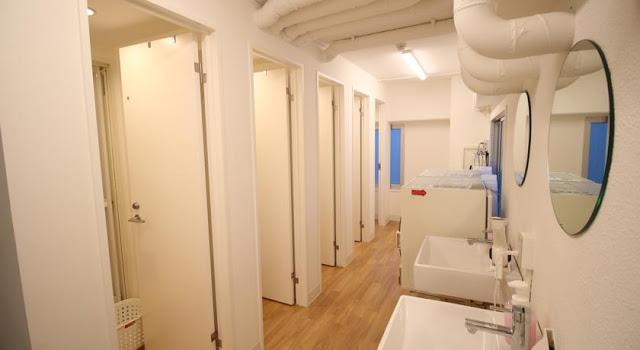 名古屋格洛克背包旅舍 Glocal Nagoya Backpackers Hostel - 浴室