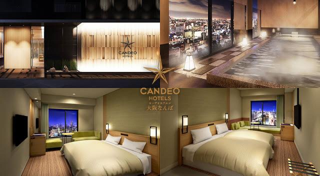 大阪難波光芒酒店 Candeo Hotels Osaka Namba