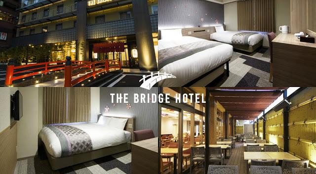 大阪The Bridge酒店心斎橋 The bridge hotel shinsaibashi Osaka