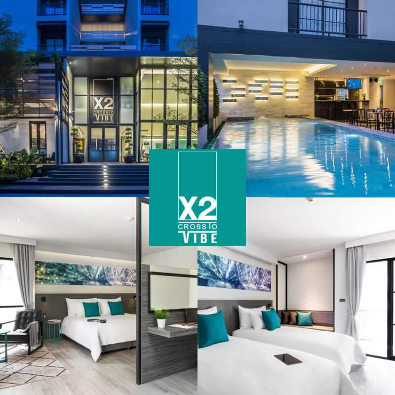 曼谷素坤逸路X2活力酒店 X2 Vibe Bangkok Sukhumvit