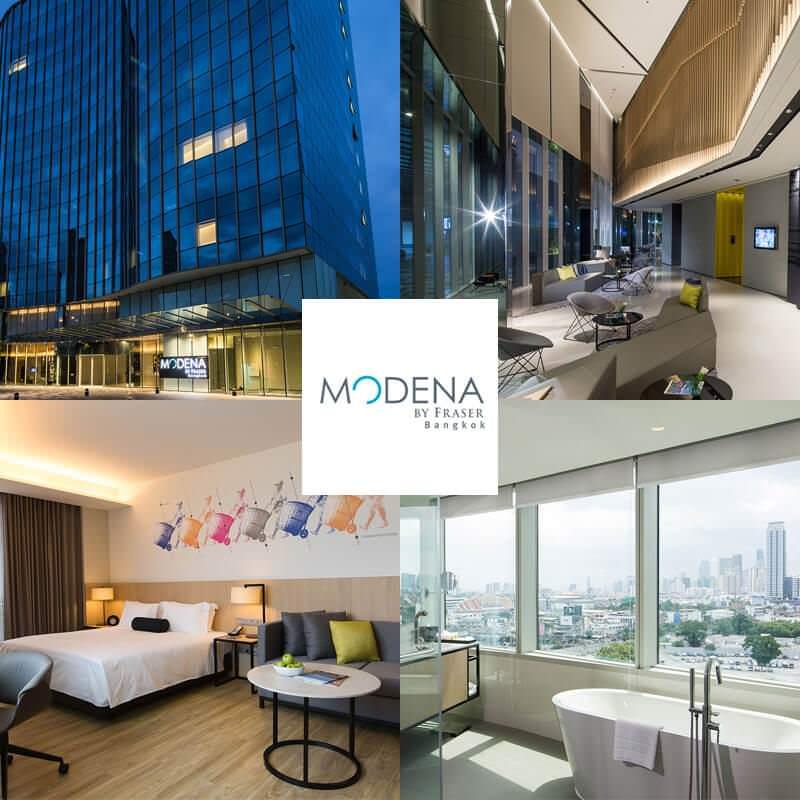 輝盛閣曼谷摩德納酒店 Modena by Fraser Bangkok