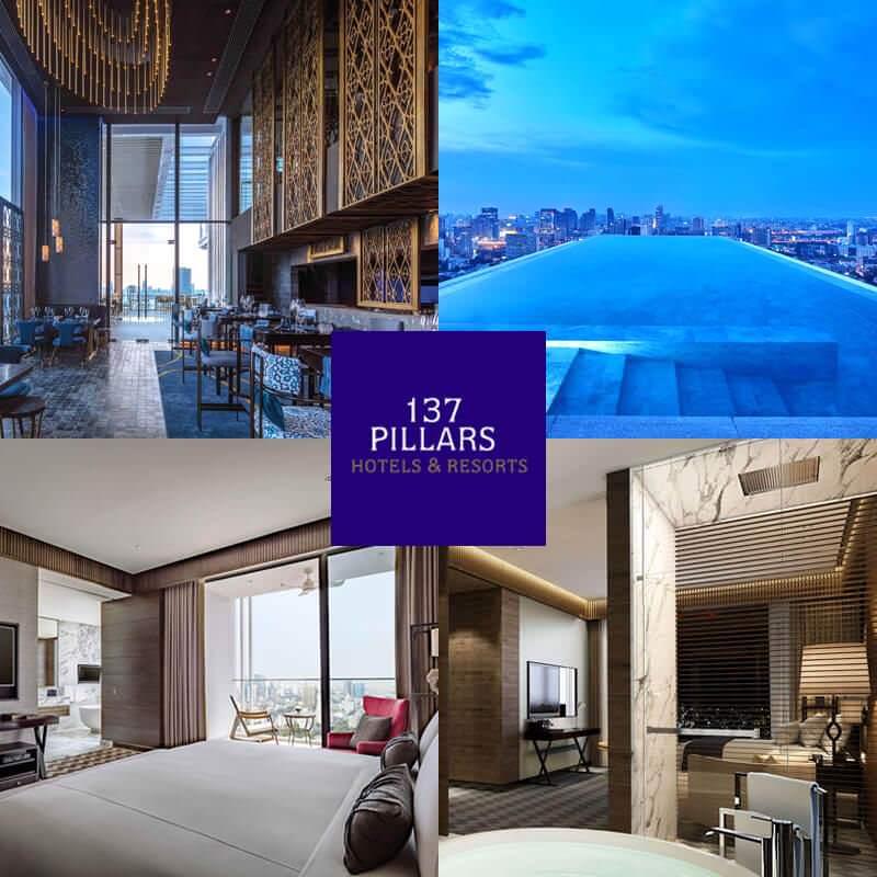 曼谷 137 柱套房酒店 137 Pillars Suites Bangkok