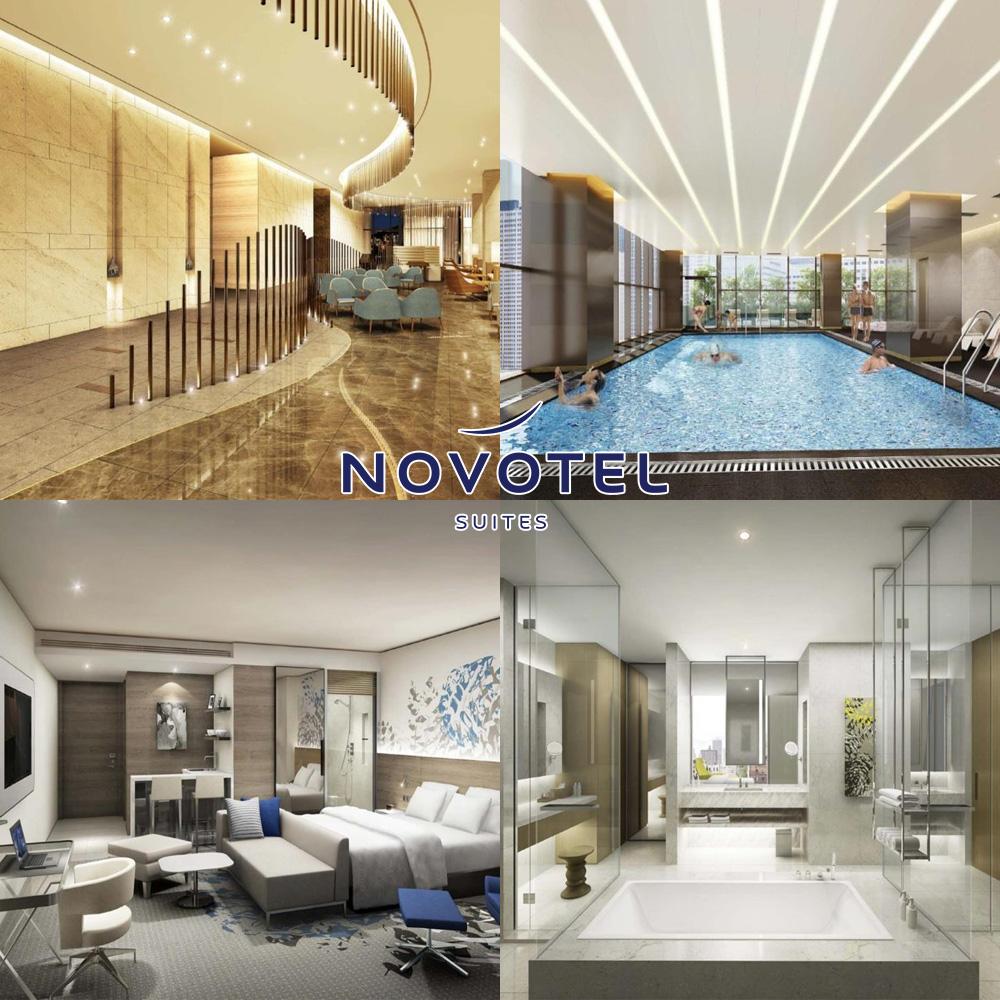 首爾龍山諾富特大使套房酒店 Novotel Suites Ambassador Seoul Yongsan