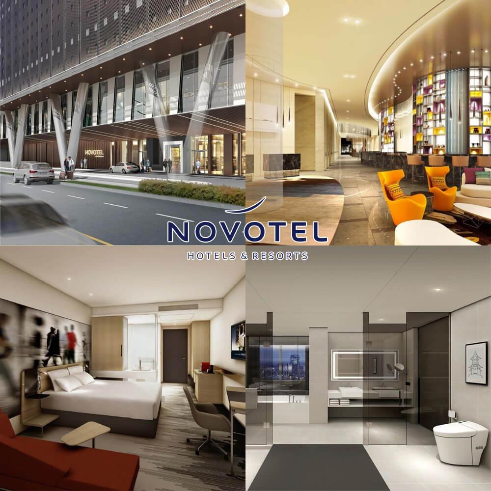 首爾龍山諾富特大使酒店 Novotel Ambassador Seoul Yongsan
