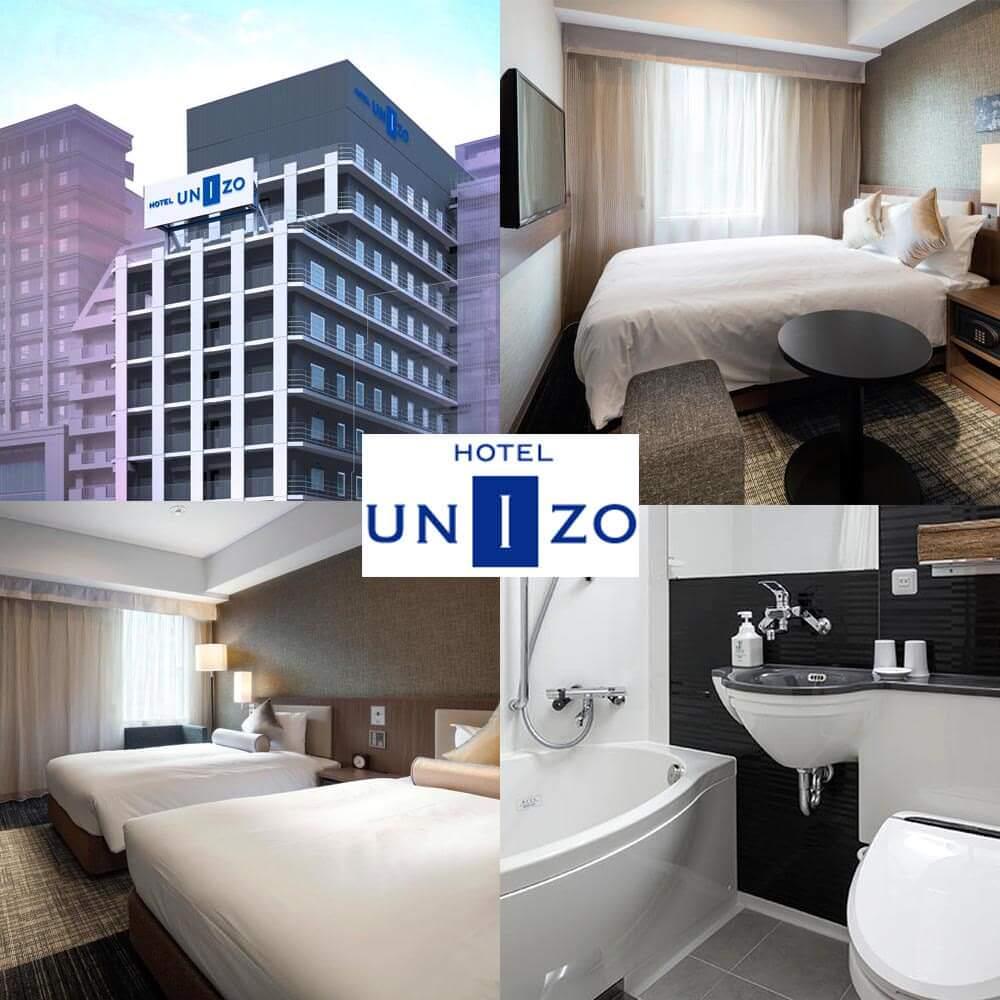 大阪新酒店-UNIZO酒店 - 大阪心齋橋 HOTEL UNIZO Osaka Shinsaibashi