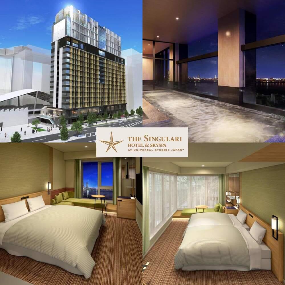 大阪新酒店-獨特天空 SPA 日本環球影城® 酒店 THE SINGULARI HOTEL & SKYSPA at Universal Studios Japan®
