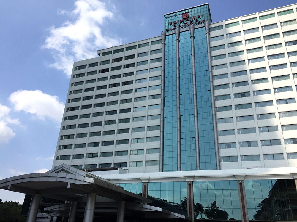 曼谷酒店推介-曼谷文思酒店 Hotel Once Bangkok 旁邊係 Ramada酒店