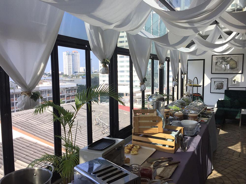 曼谷酒店推介-曼谷文思酒店 Hotel Once Bangkok 早餐