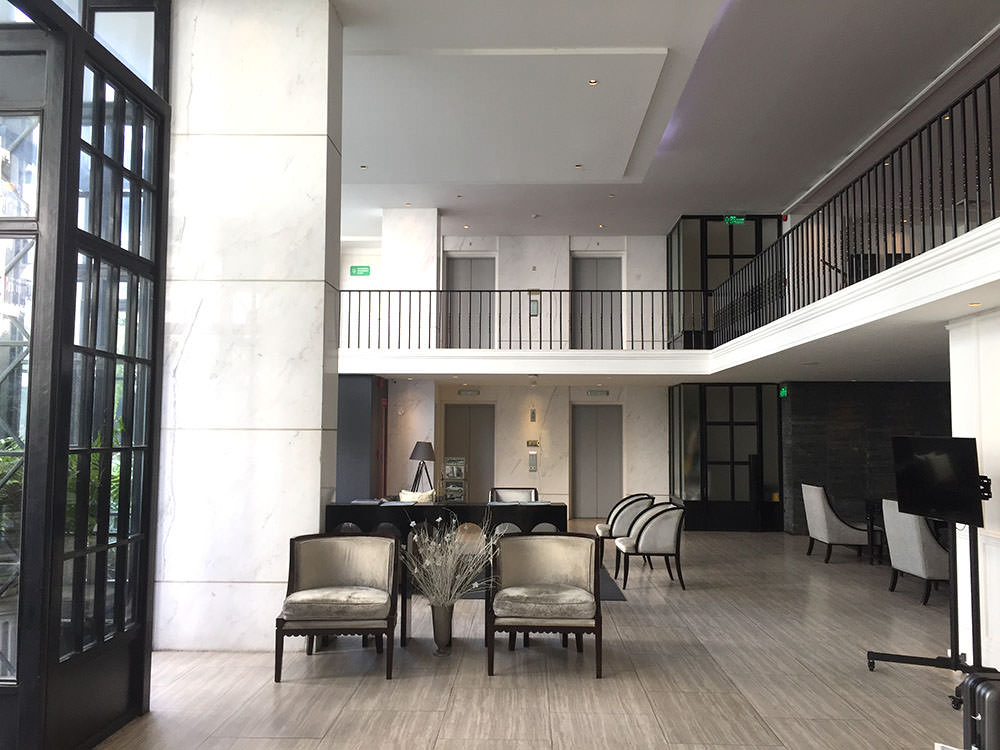 曼谷酒店推介-曼谷文思酒店 Hotel Once Bangkok 大堂