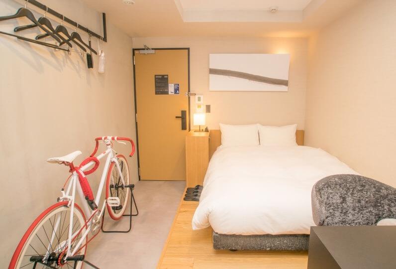 HATAGO INN Kansai Airport - Bicycle Room
