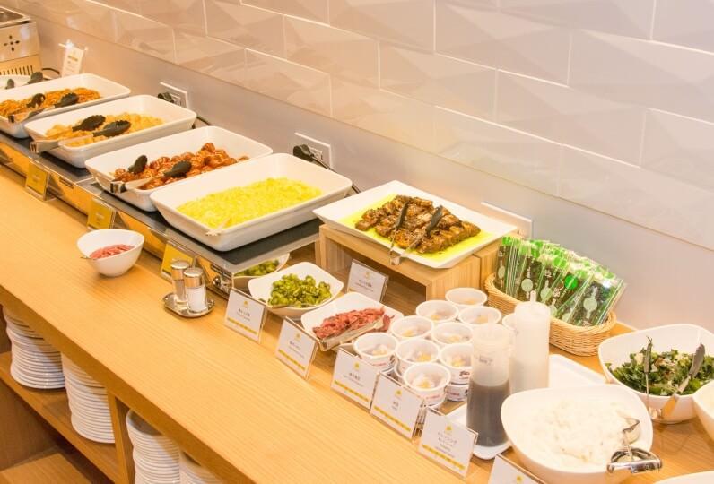 HATAGO INN Kansai Airport - 早餐