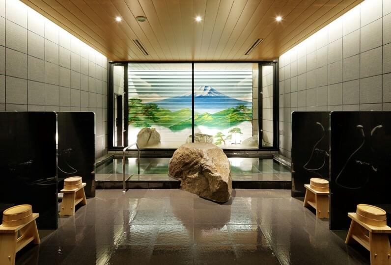 HATAGO INN Kansai Airport - 浴場