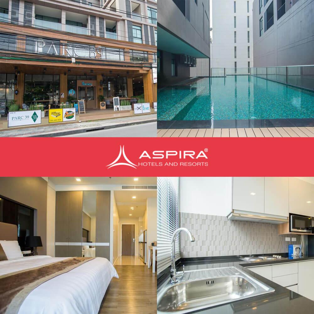 阿斯普拉公園39號酒店 Aspira ParcResidence 39
