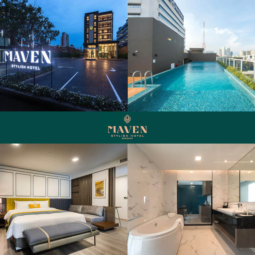 曼谷馬文酒店 Maven Bangkok Hotel