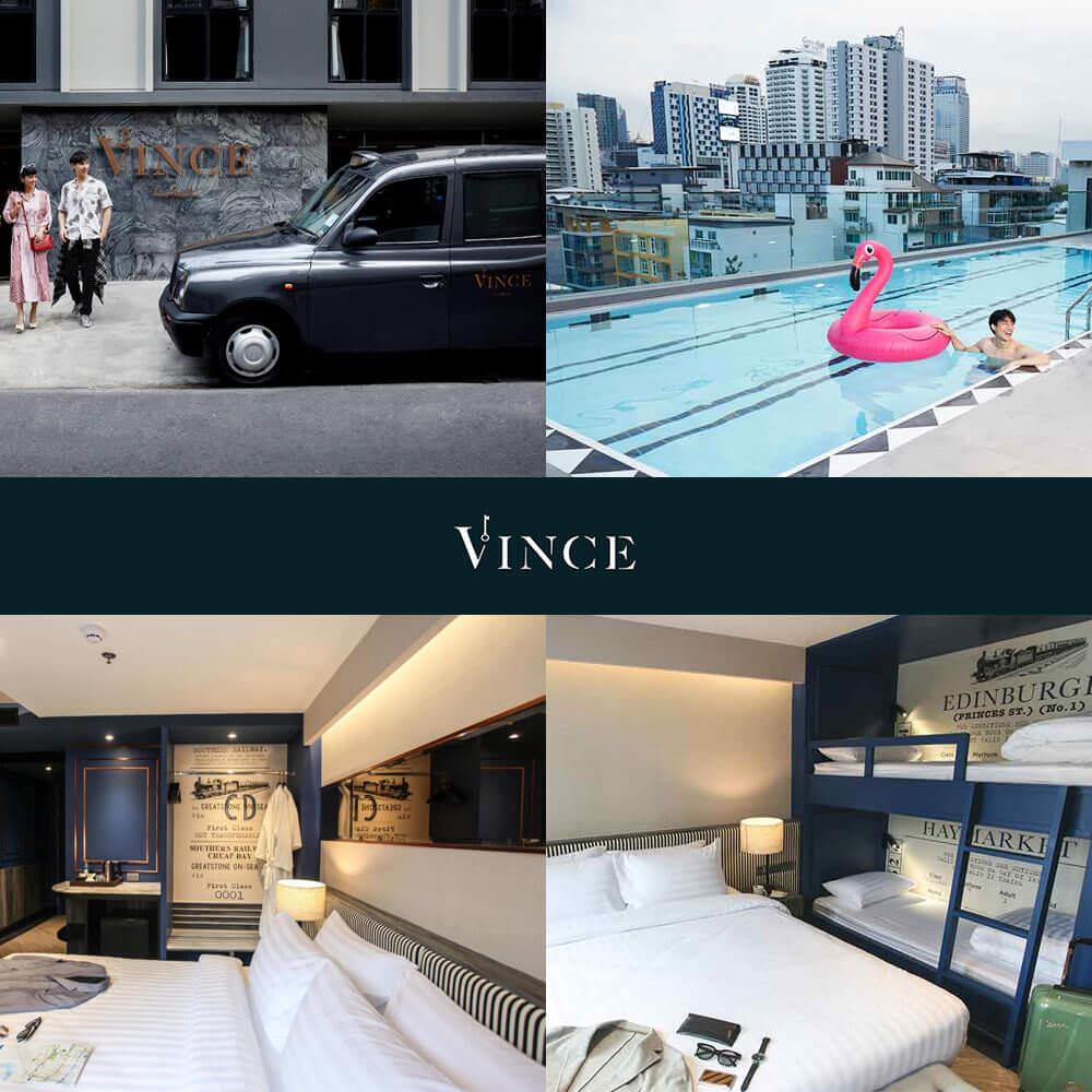 曼谷水門文斯酒店精英大廈 Vince Hotel Bangkok Pratunam Elite Tower