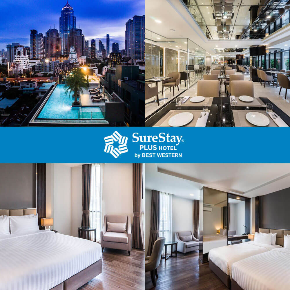 素坤逸2巷最佳西方舒心酒店 SureStay Plus by Best Western Sukhumvit 2