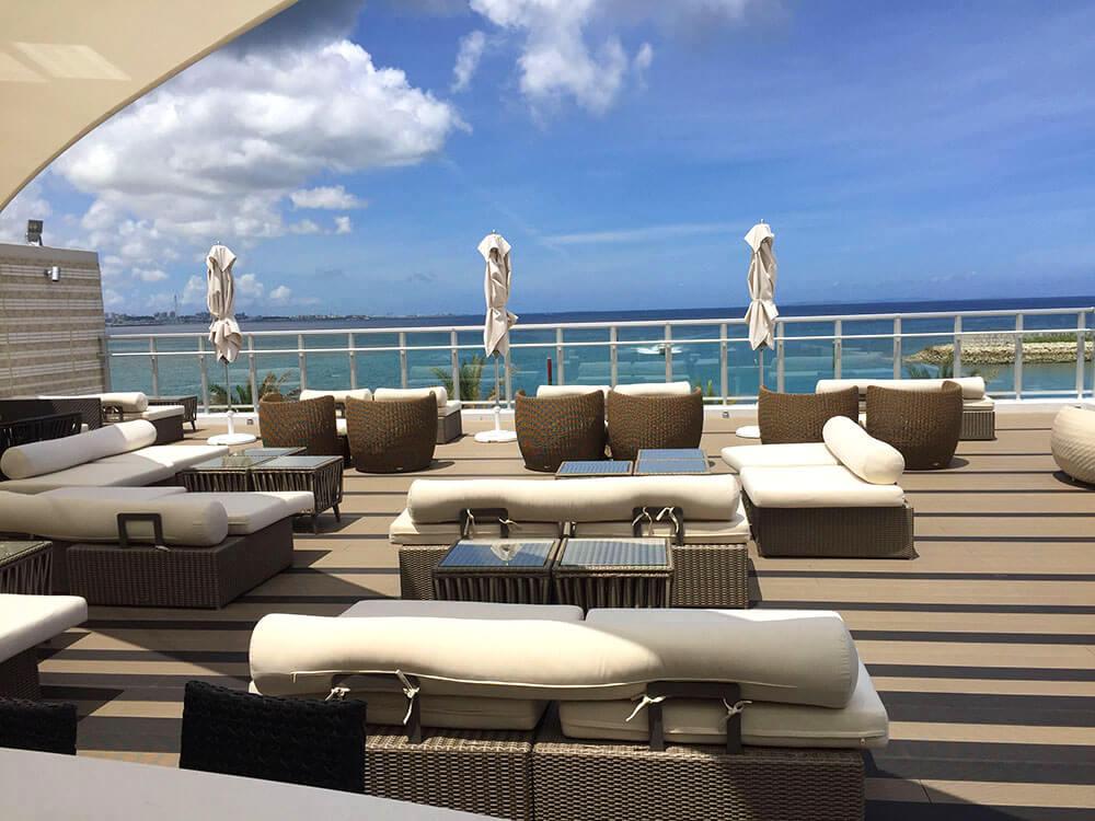 沖繩北谷希爾頓逸林度假酒店 DoubleTree by Hilton Okinawa Chatan Resort - Rooftop Bar