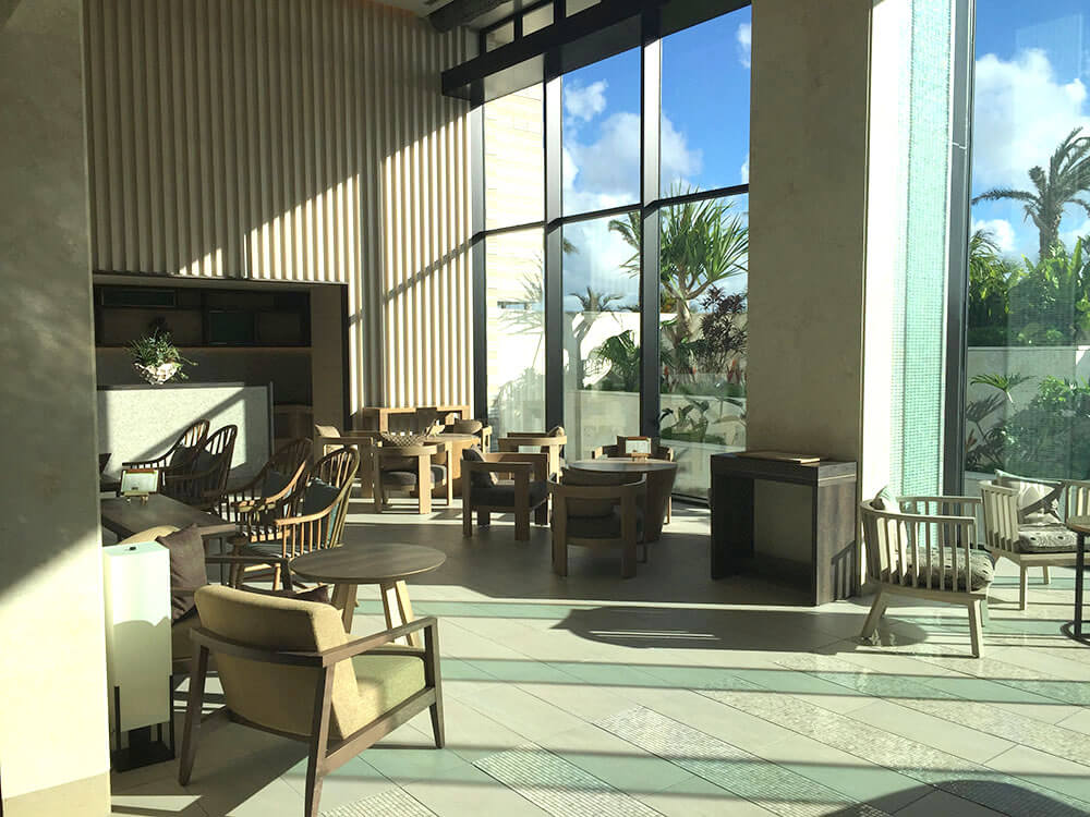 沖繩北谷希爾頓逸林度假酒店 DoubleTree by Hilton Okinawa Chatan Resort - Lounge