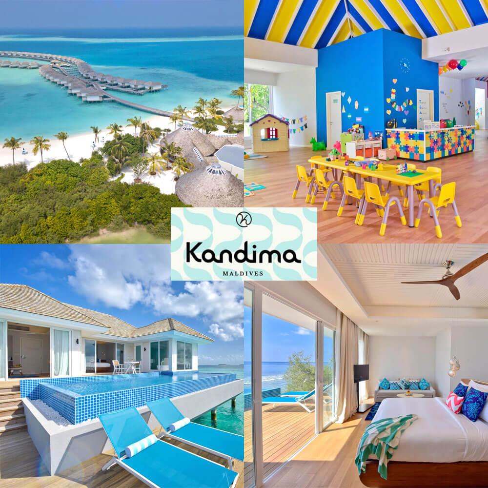 馬爾代夫康杜瑪酒店 Kandima Maldives