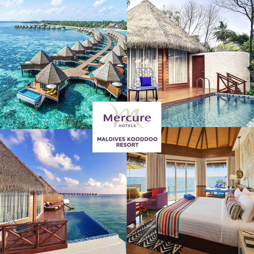 馬爾代夫群島庫杜美居度假村 Mercure Maldives Kooddoo Resort