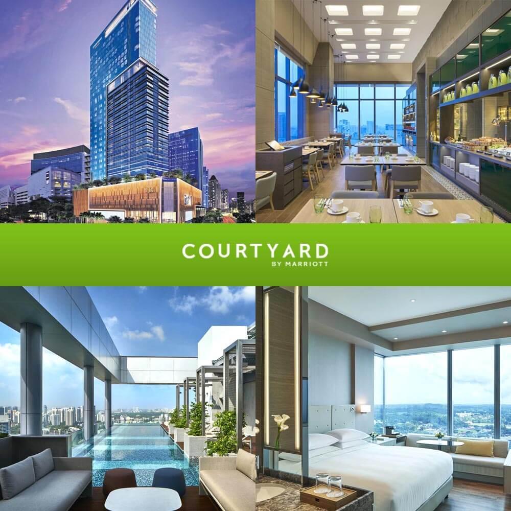 新加坡諾維娜萬怡酒店 Courtyard by Marriott Singapore Novena