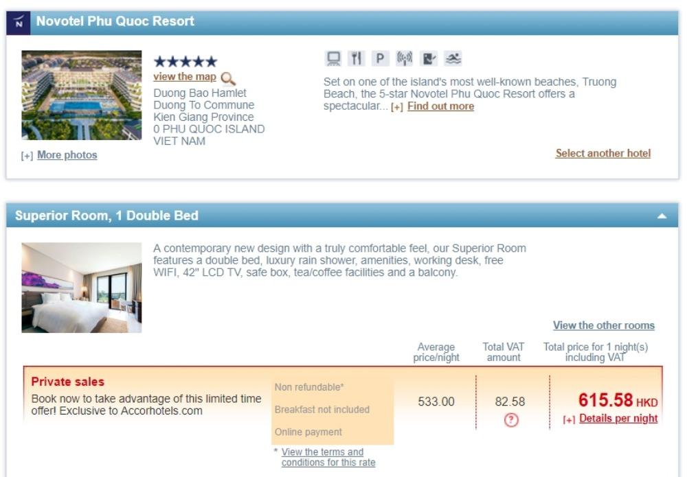 Novotel Phu Quoc ResortHK$533起