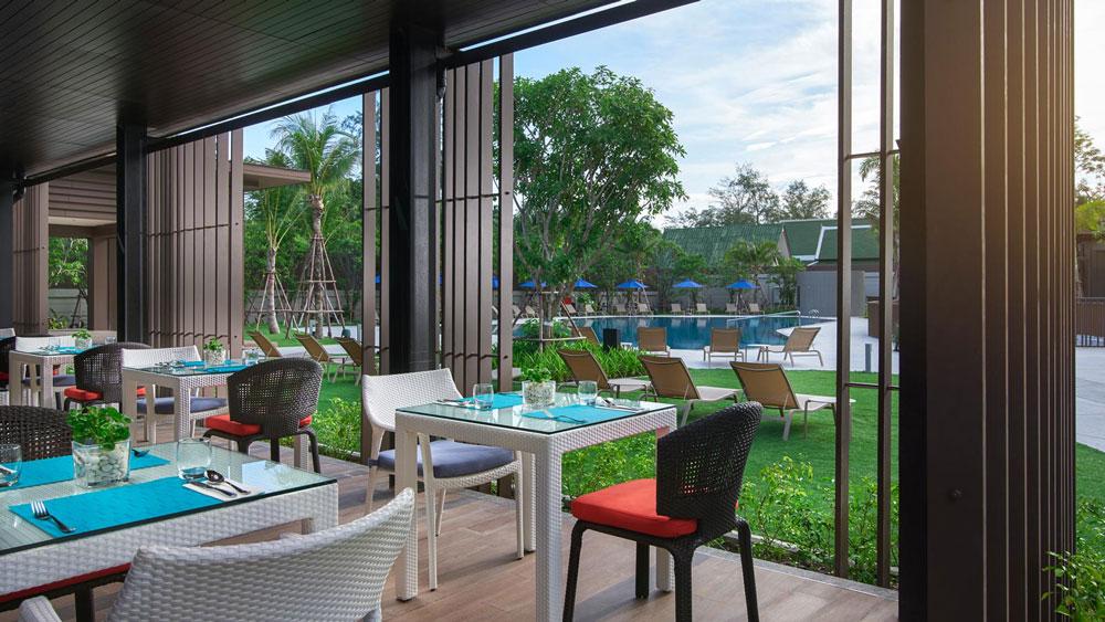 布吉傲舍酒店 OZO Phuket - 餐廳