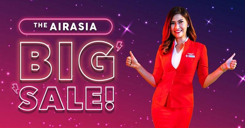 澳門飛清萊$40起!AirAsia【Big SALE】香港飛喀比來回連稅$647起/沙巴$688起/清邁$852,今日已開賣 - AirAsia