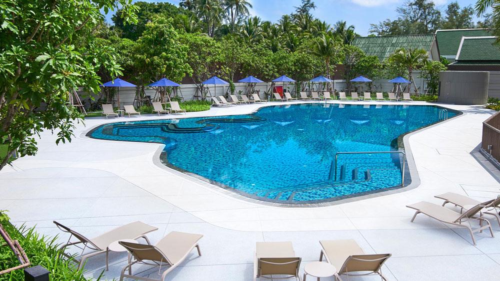 布吉傲舍酒店 OZO Phuket - 泳池