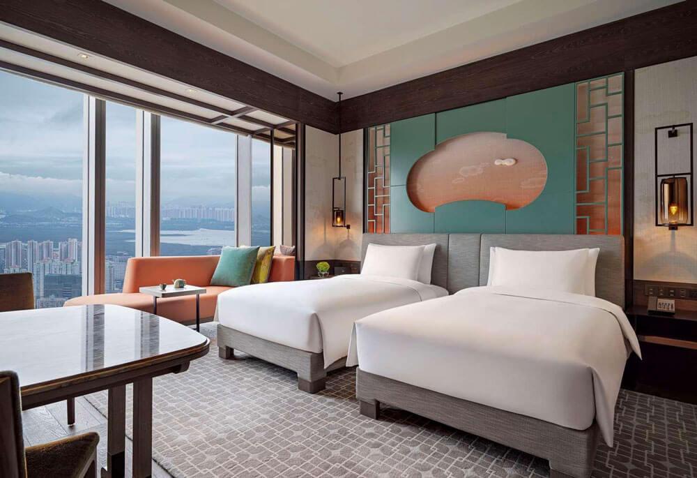 Park Hyatt Shenzhen 深圳柏悅酒店-天際線景觀客房