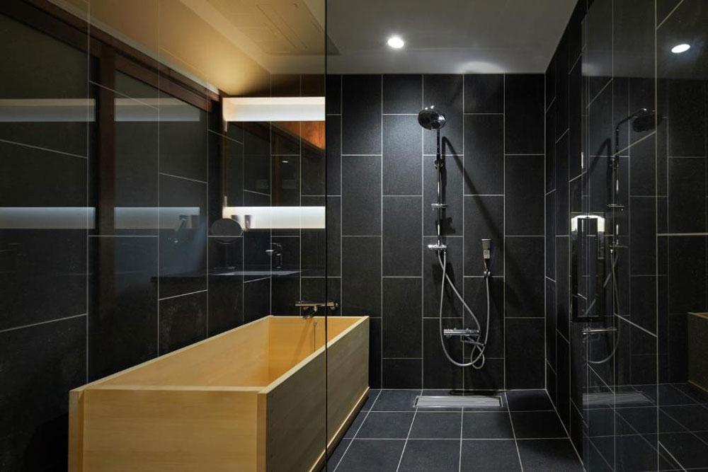 YADORU KYOTO 抹茶之宿雙人房浴室