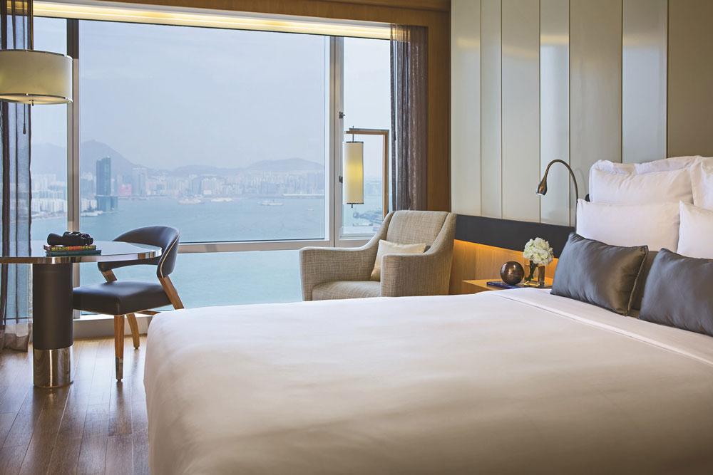 香港萬麗海景酒店-海景客房