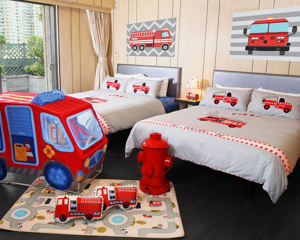 挪亞方舟度假酒店-消防小英雄主題套房