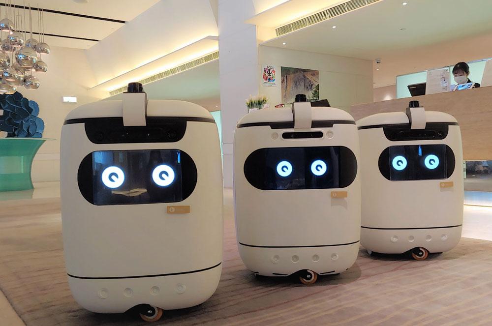 如心南灣海景酒店-機械人Genie親自運送早餐盒至房間