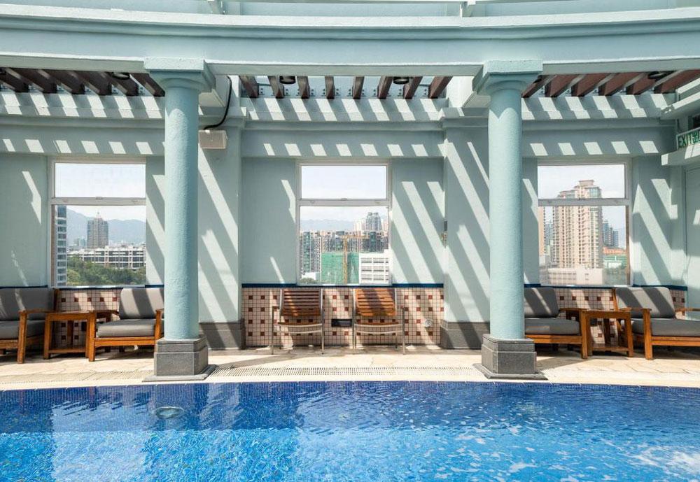 香港逸東酒店-室外泳池