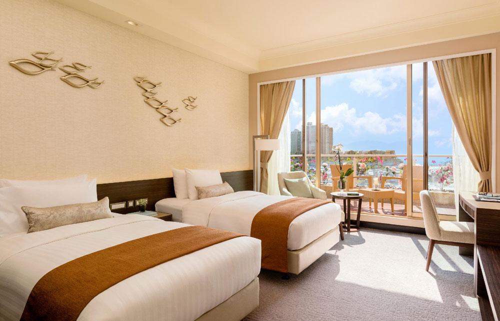 香港黃金海岸酒店-豪華海景客房