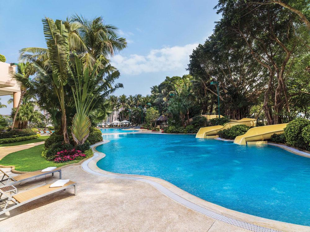 香港黃金海岸酒店-酒店泳池