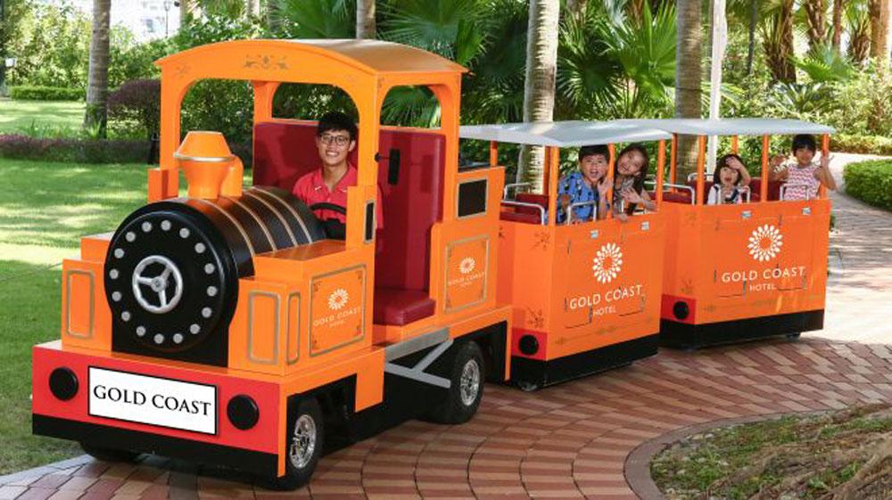 香港黃金海岸酒店-兒童小火車