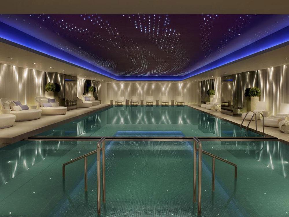 香港美麗華酒店-室內泳池