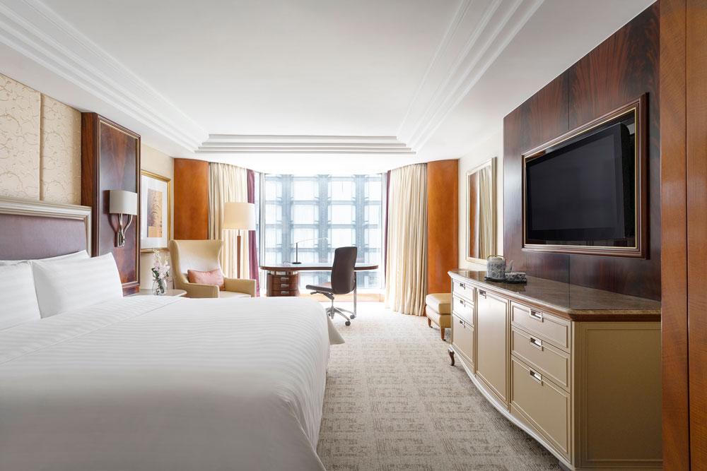 九龍香格里拉大酒店-豪華客房