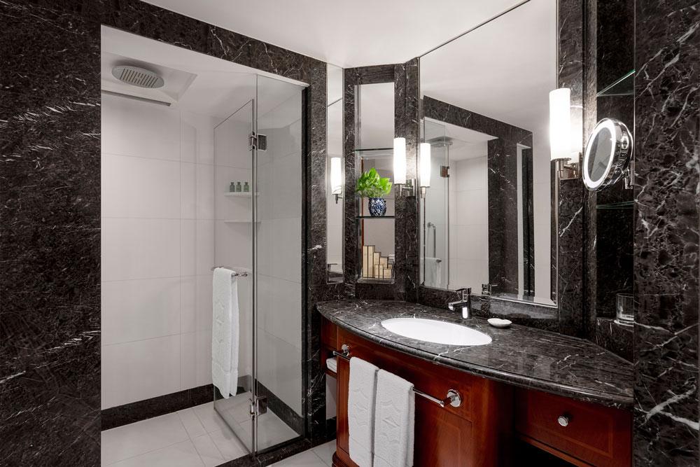九龍香格里拉大酒店-豪華客房浴室