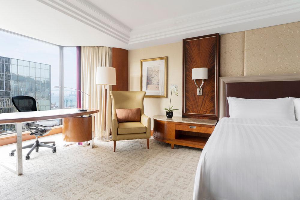 九龍香格里拉大酒店-半海景客房
