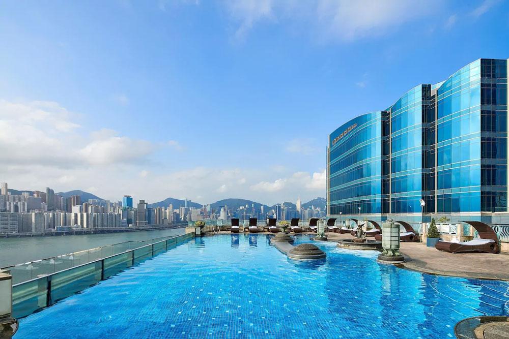 九龍海逸君綽酒店-室外泳池