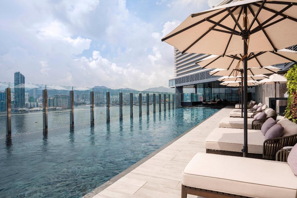 香港維港凱悅尚萃酒店-露天泳池