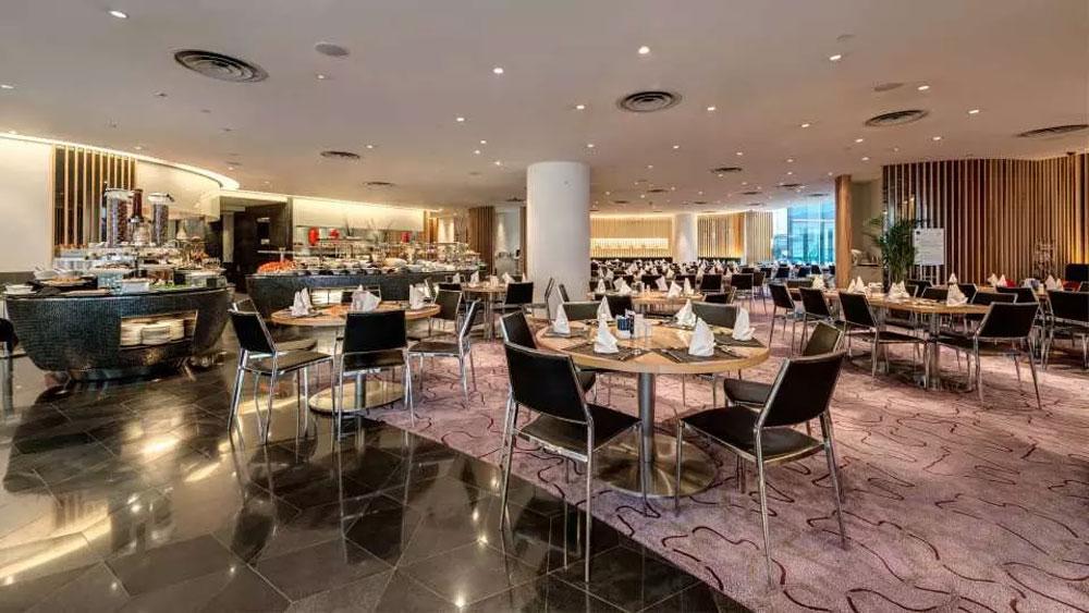 香港諾富特世紀酒店-Le Café 咖啡廳