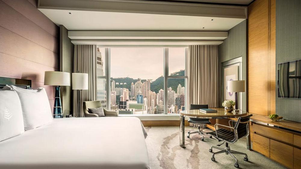 香港四季酒店-豪華客房